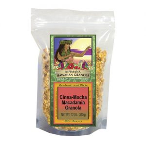 A Bag of Cinna-Mocha-Macadamia-Granola