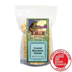 A Bag of Award Winning Coconut-Macadamia Granola