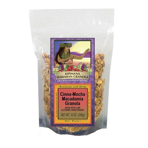 A Bag of Low Glycemic Cinna-Mocha-Macadamia-Granola