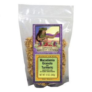 A Bag of Low Glycemic-Macadamia-Granola-with-Turmeric