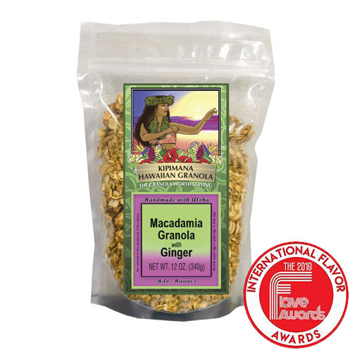 A Bag of Award Winning Macadamia-Granola-with-Ginger