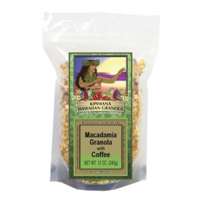 A Bag of Macadamia-with-Coffee Granola